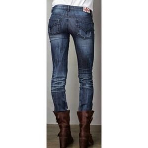 Machine London Fit Skinny Jeans